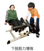 下肢筋力増強